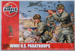 Airfix 1/72 AX01751 US Paratroopers (WW2)